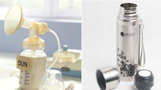 Có nên giữ sữa mẹ trong bình giữ nhiệt không?