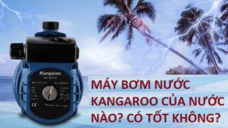 Máy bơm Kangaroo của nước nào? Có tốt không? Có nên mua không?