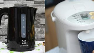Nên mua bình đun siêu tốc hay bình thủy điện?