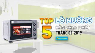 Top 5 lò nướng bán chạy nhất tại Điện máy XANH tháng 2/2019