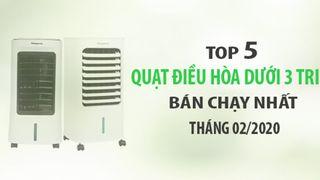 Top 5 quạt điều hòa dưới 3 triệu bán chạy Điện máy XANH tháng 02/2020