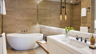 Những căn phòng tắm bằng gỗ khiến bạn chẳng thể nào làm ngơ