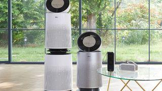 Trải nghiệm máy lọc không khí LG PuriCare: Thiết kế 360 độ, lọc bụi siêu mịn từ mọi hướng