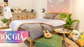 Phòng ngủ cải tạo theo phong cách Bắc Âu đẹp lôi cuốn từng góc nhỏ chỉ với 2 triệu đồng