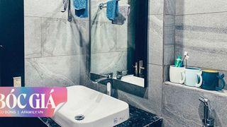 Phòng tắm xanh mát mắt và hiện đại của cặp vợ chồng chủ trương chỉ chọn đồ chất lượng tốt