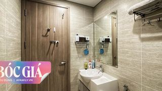 Vợ chồng trẻ tiết lộ giá mua sắm cho không gian phòng tắm tối giản với giá 22 triệu đồng