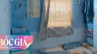 """Phòng ngủ trên gác tone xanh và màn bóc giá những món đồ decor chỉ 5,3 triệu đồng giúp """"cứu tinh"""" cho cả không gian nhỏ hẹp"""