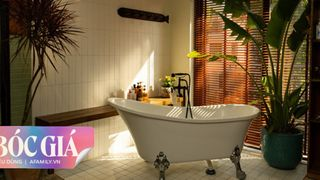 Phòng tắm kết hợp nơi thay đồ vô cùng ấn tượng và mãn nhãn với tổng chi phí 124 triệu đồng ở ngoại thành Hà Nội