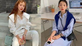 12 set đồ đáng chú ý từ hội gái Hàn mà nàng công sở có thể áp dụng đến ở làm