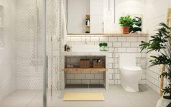 """9 chi tiết nhỏ bạn có thể áp dụng vào phòng tắm để """"nới rộng"""" không gian"""