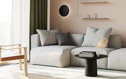 Đã mắt với căn hộ thiết kế tối giản ấm cúng nhờ bảng màu tone đất
