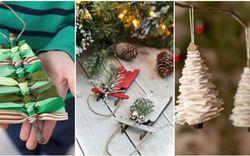 Mách chị em những món đồ handmade dễ thương, dễ làm để trang trí cây thông giúp ngôi nhà rực rỡ ngày Giáng sinh