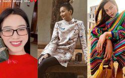 Street style ngày cận Tết của sao Việt: HH Đỗ Thị Hà diện váy đỏ may mắn, Hà Hồ chơi lớn với sắc màu không ai địch nổi