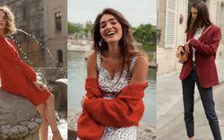 Tết này thanh lịch như gái Pháp với 10 set đồ màu đỏ, mang may mắn đến cả năm Tân Sửu dành cho các nàng 30+