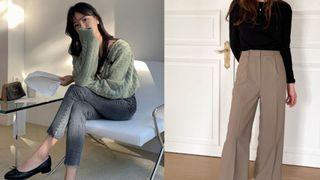 6 bộ đôi quần dài + giày dép gái Hàn chăm diện nhất, ngán váy vóc thì chị em nên ghim ngay