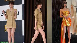 Chị đại SNSD sở hữu đôi chân dài siêu thực đến Lisa cũng phải lép vế, cứ diện đồ ngắn là dân tình choáng váng