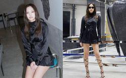 Jennie cuối cũng đã lộ 1 lần hiếm hoi mặc xấu,  không thể mê từ trang phục đến tóc tai, makeup