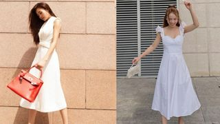 5 mẫu giày hoàn hảo để mix với váy trắng: Vừa tôn dáng hết cỡ, vừa tăng gấp mấy lần vẻ tinh tế và sang chảnh