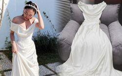 Trân trọng váy cưới như Tóc Tiên: Gửi sang tận Mỹ giặt hấp để tới ngày kỷ niệm mặc lại