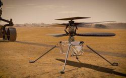 Trực thăng đầu tiên trên sao Hỏa liên lạc với Trái Đất