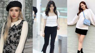 Học 12 cách diện đồ đen - trắng của sao Hàn để ngay cả lúc lười nhất, chị em vẫn mặc đẹp và sang hết cỡ