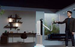 """[CES 2021] Samsung ra mắt robot như """"osin"""": Rửa bát, dọn bàn ăn, rót nước cực đỉnh"""