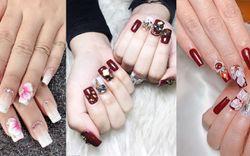 70+ mẫu nail đẹp ngày Tết - Mẫu móng đơn giản, xinh xắn đón Tết 2021