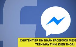 Cách chuyển tiếp tin nhắn Facebook Messenger trên máy tính, điện thoại