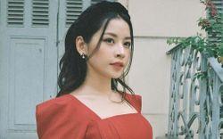 """Cùng """"đụng hàng"""" 1 mẫu áo dài: Chi Pu, Linh Ka thêm bờm sang chảnh, Phí Phương Anh búi tóc kiêu kì"""