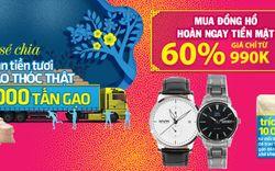 Top 10 đồng hồ thời trang nam, nữ giảm SỐC đến 60%, hàng hiệu, giá tốt