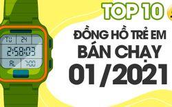 Top 10 đồng hồ thời trang trẻ em bán chạy nhất tháng 01/2021 tại Điện máy XANH