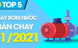 Top 5 máy bơm nước bán chạy nhất tháng 01/2021 tại Điện máy XANH