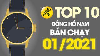 Top 10 đồng hồ nam bán chạy nhất tháng 01/2021 tại Điện máy XANH