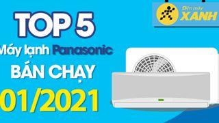 Top 5 máy lạnh Panasonic bán chạy nhất tháng 01/2021 tại Điện máy XANH