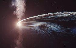 Hé lộ nguồn gốc của 'hạt ma' đâm xuống Trái Đất