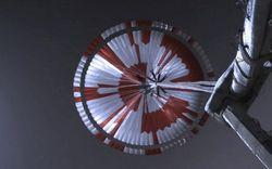 Mật mã giấu trên chiếc dù của robot thăm dò sao Hỏa