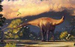 Phát hiện loài khủng long mới dài tới 20 m