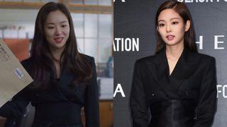 """""""Bồ mới"""" của Song Joong Ki khí chất cũng ngang ngửa Jennie khi cùng diện vest gần 40 triệu"""