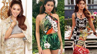 Em chồng Hà Tăng diện cả loạt váy áo ít người dám mặc, chứng minh thần thái đỉnh cao hiếm ai bì kịp