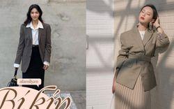 Có ít nhất 10 cách diện blazer + váy, nàng công sở áp dụng thế nào cũng ra được vẻ thanh lịch và sành điệu tuyệt đối