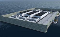 Đảo năng lượng cung cấp điện cho 3 triệu hộ gia đình