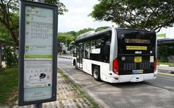 Singapore thử nghiệm xe buýt tự lái
